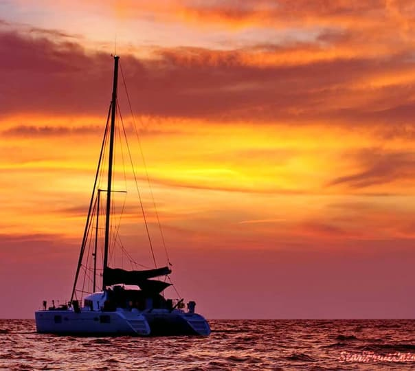 Romantic Sunset Sailing Trip For a Private Group