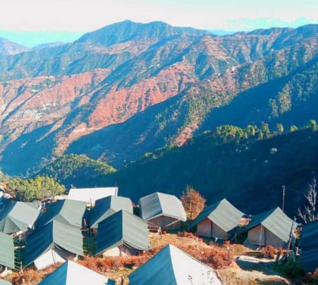 Camping in Dhanlauti near Mussorie Flat 18% off