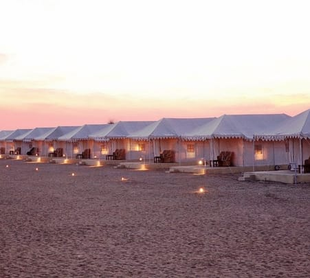 Luxury Camp Experience in Desert, Jaisalmer - Flat 15 % off