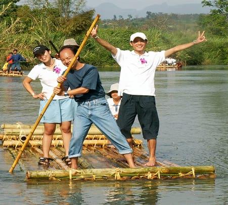 Full Day Jeep Safari, Bamboo Rafting & Elephant Camp Tour