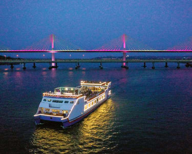 Sunset River Cruise in Mandovi River | Book @ 450 Only !