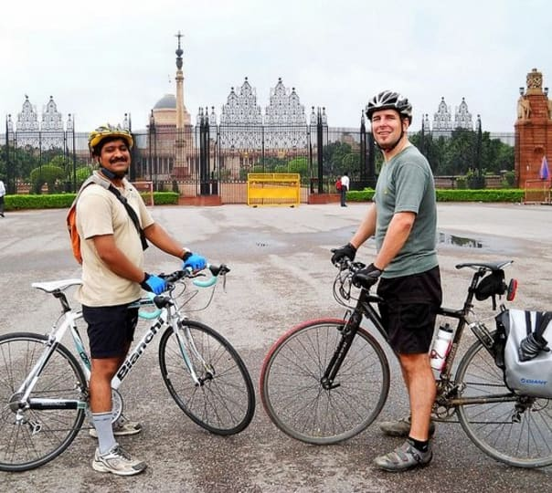 Cycling Through the Golden Triangle