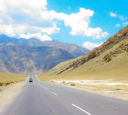 Motorcycle Ride through Lahaul, Spiti, and Chandra Tal