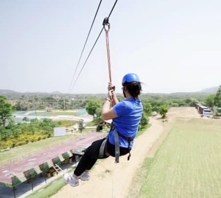 Rock Climbing, Rappelling and Zip-lining Activity at Jaisalmer