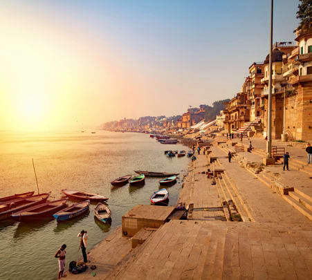 Varanasi Sunrise Boat Tour Flat 20% off