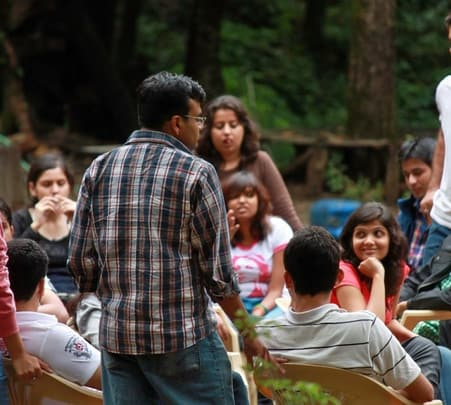 Corporate Team Outing at a Jungle Camp and Resort in Nainital