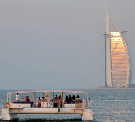 Catamaran Sharing Cruise in Dubai