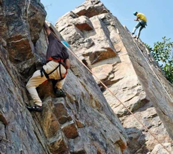 Rock Climbing Session at Damdama in Gurgaon