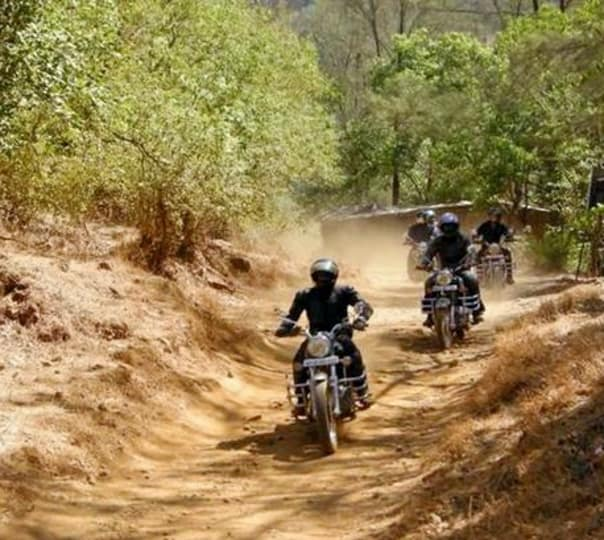 One Day Adventure Biking to Rajmachi