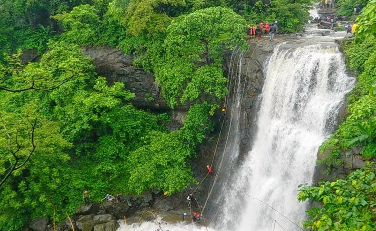 Bhivpuri Waterfall Rappelling Raigad Thrillophilia