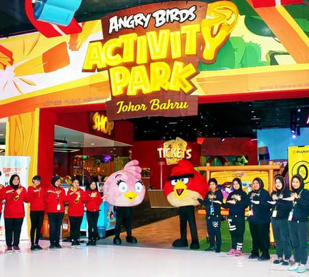 Angry Birds Activity Park in Johor Bahru Flat 18% off
