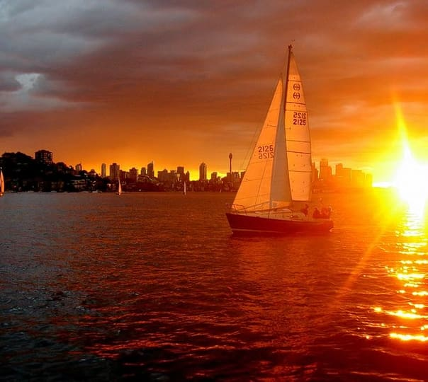 Sunset Sailing in Sydney