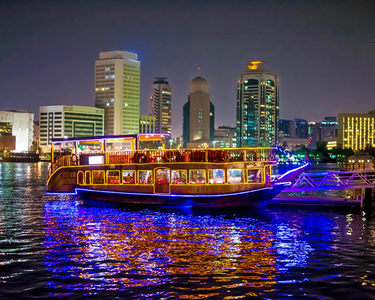 Dhow Dinner Cruise in Dubai - Flat 25% off