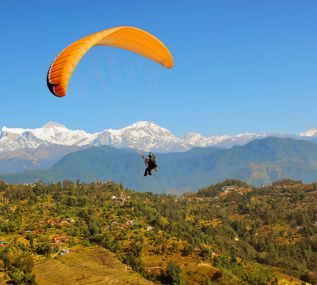 Paragliding in Pokhara - Flat 20% off