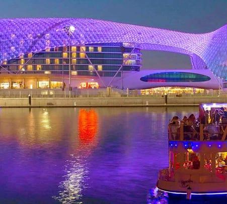Yas Marina Abu Dhabi Dinner Cruise