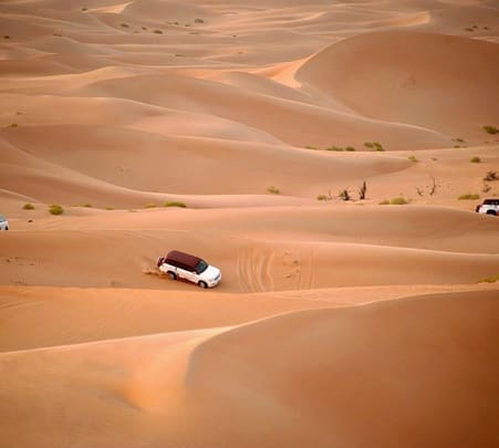 Red Dune Safari in Dubai
