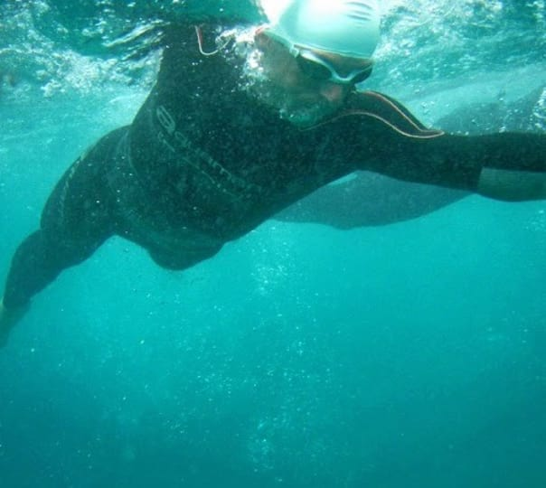 Swim from Vasco to Dona Paula in Goa