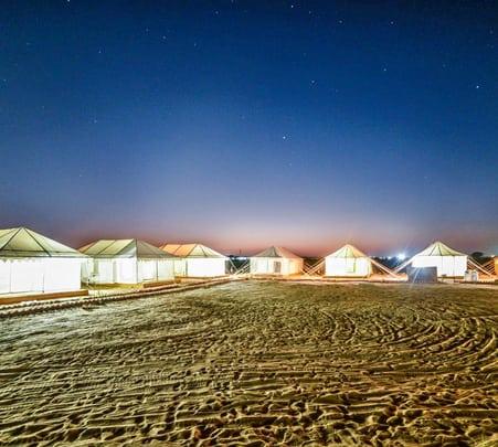 Camping in Thar Desert, Jaisalmer Flat 22% Off