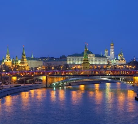 6 Days / 5 Nights Moscow Tour, Russia