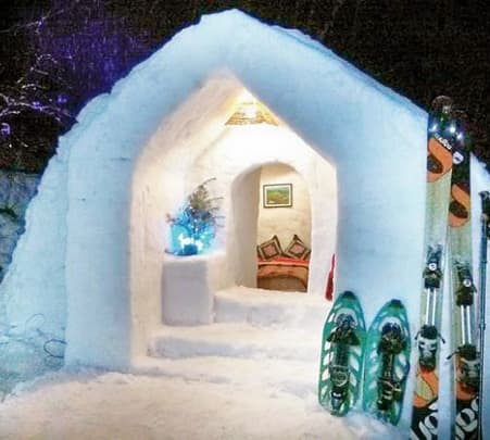 Igloo Stay Experience in Manali