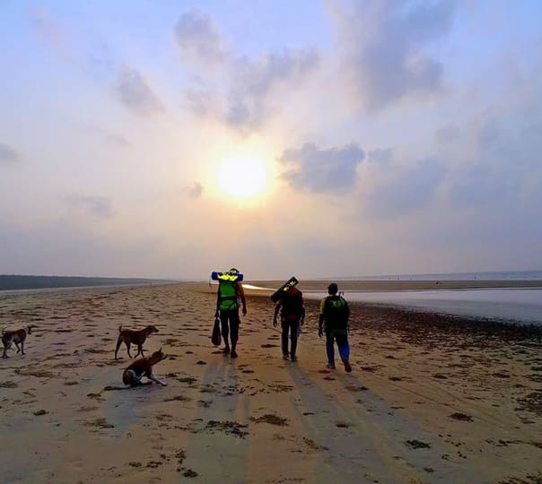 Coastal Trek from Chandipur, Odisha to New Digha, West Bengal