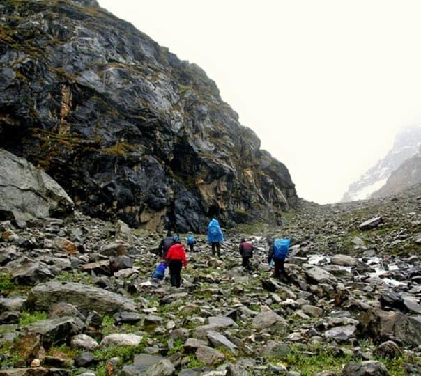 Trekking in Hampta Pass