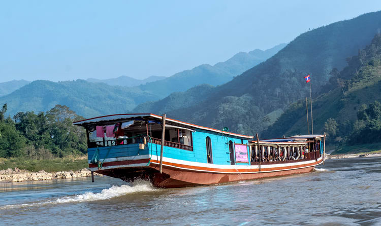 A Slow Boat Down The Mekong