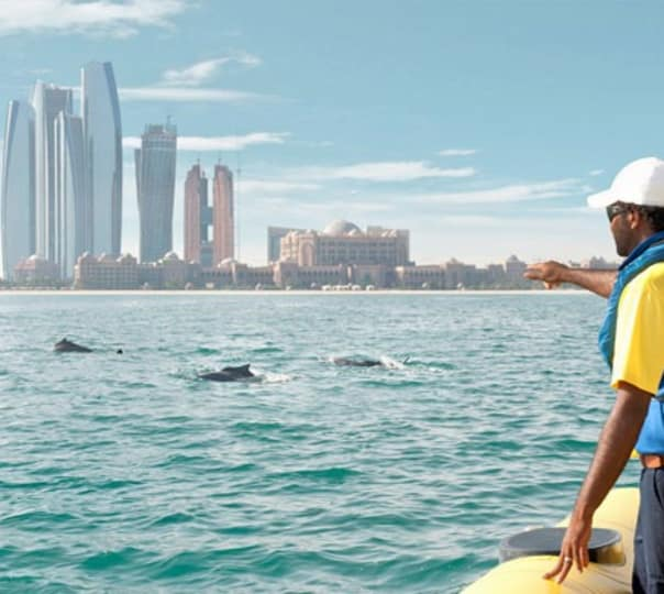 Boat Ride to Emirates Palace, Corniche & Lulu Island Tour