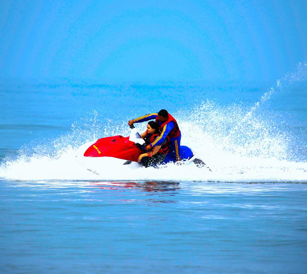 Jet Ski Adventure at Mobor Beach in South Goa