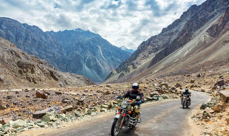 Srinagar - Leh - Manali Motorcycle Expedition