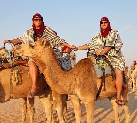 Camel Safari from Sainghal to Bhadla