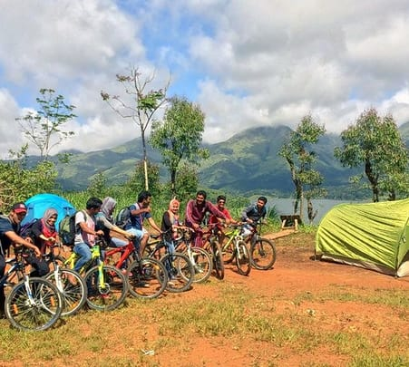 Camping, Rafting and Cycling Tour in Wayanad