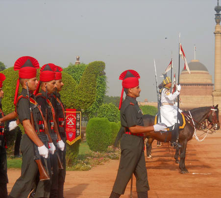 Rajpath Change of Guard Ceremony and National Museum Visit