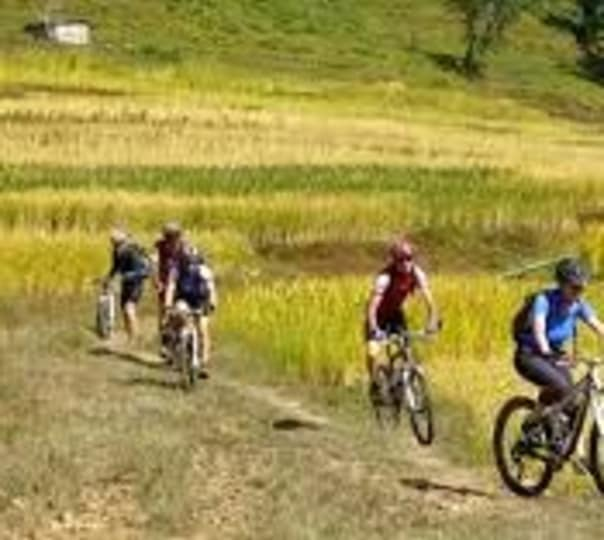 Mountain Bike Tour in Pokhara Valley