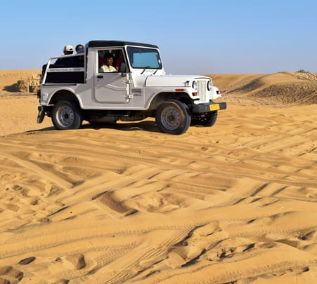Overnight Jeep Safari with Camping in Jaisalmer- Flat 48% off