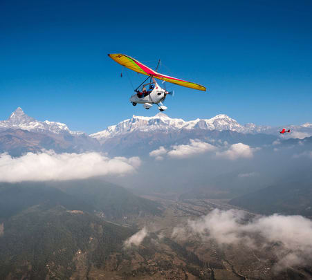 Ultralight Flight in Pokhara - Flat 23% off