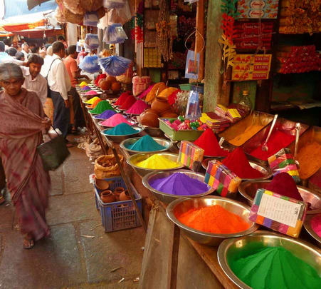 Holi Special Walking Tour in Jaipur