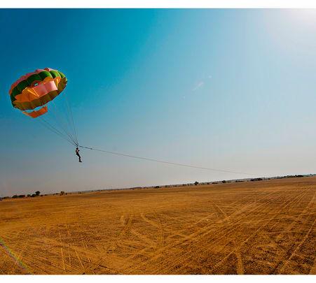 Parasailing at Jaisalmer