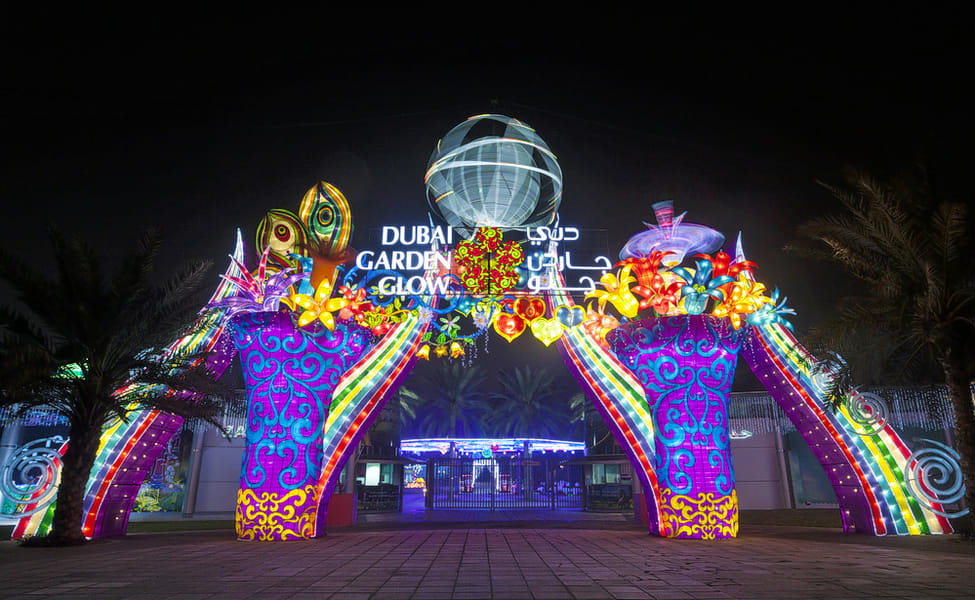 Dubai Garden Glow Tickets Save 30 Book Online