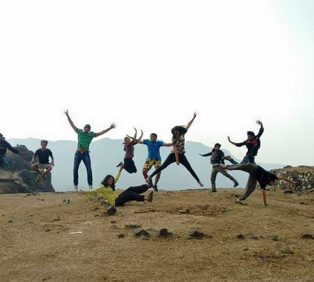 Night Trek and Camping at Koarigad in Lonavala