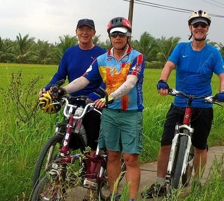7 Days and 6 Nights Cycling Tour of Mekong Delta