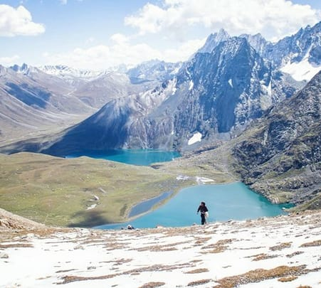 Kashmir Lakes Trek For 8 Days/ 7 Nights
