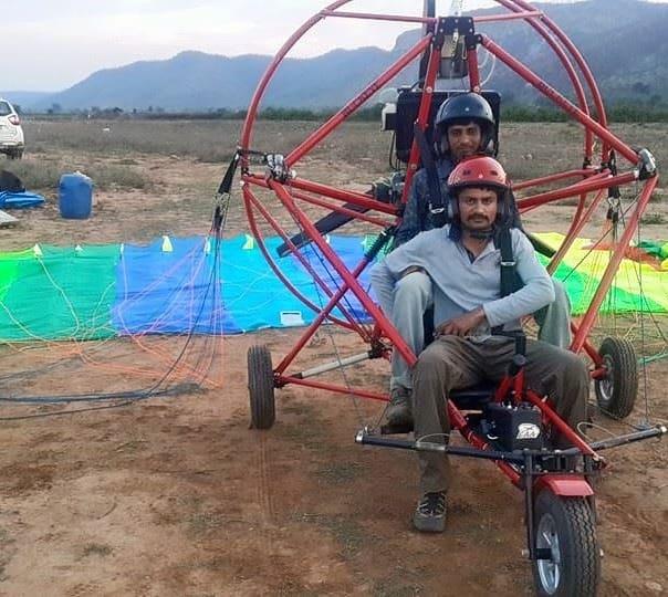 Paramoto Ride at Alwar