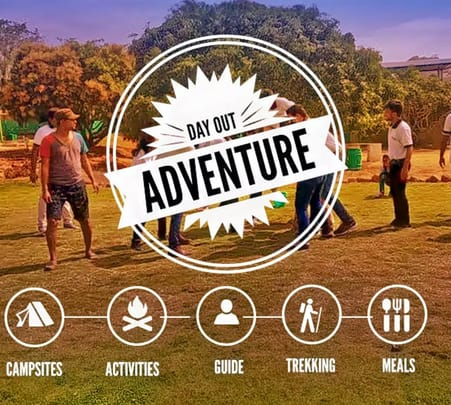 Adventure Camp in Ramanagara Flat 20% off