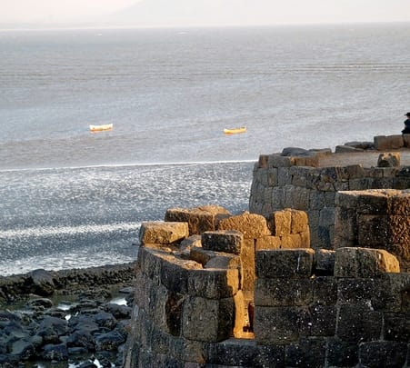 Excursion to the Magnificent Forts of Alibag