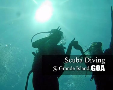 Scuba Diving at Grande Island in Goa | Book @ 1665 Only