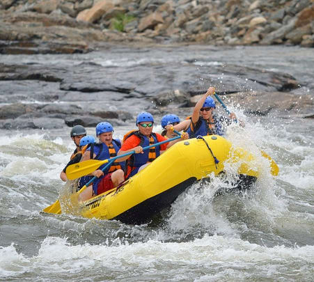 White Water Rafting and Elephant Ride near Phuket