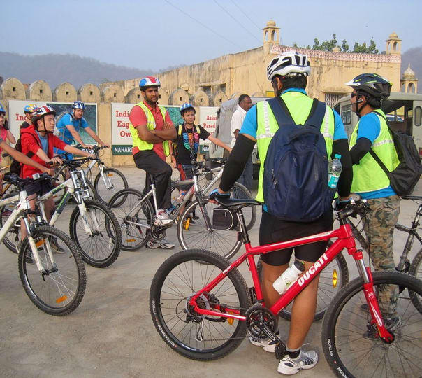 Village Cycle Tour in Jaipur