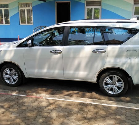 Rent a Toyota Innova Crysta in Chandigarh