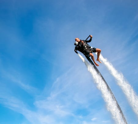 Water Jet Pack Experience in Dubai